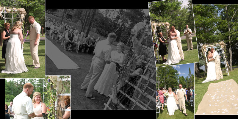 Wisconsin Wedding Album Photography